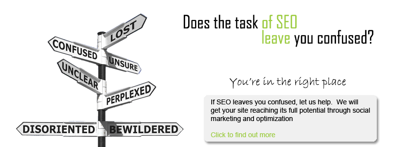 If search engine optimization leaves you confused let Sault Web Design help