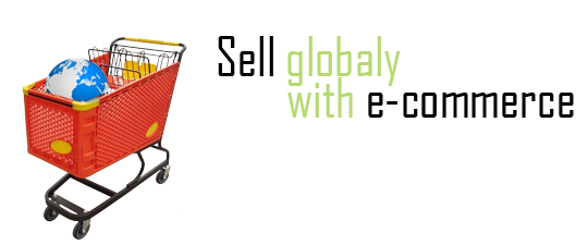 Sell globaly with e-commerce