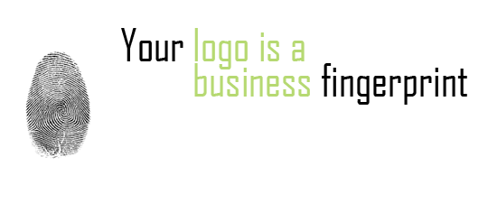 your logo is a business fingerprint